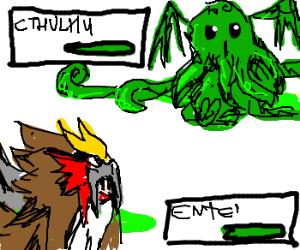pokemon cthulhu vs elder god entei
