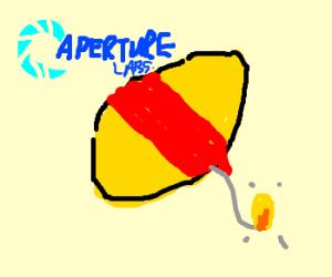 Aperture's combustible lemons