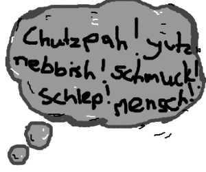Silly Yiddish puns