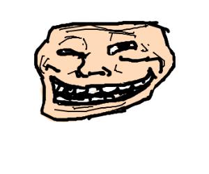 fleshtoned trollface
