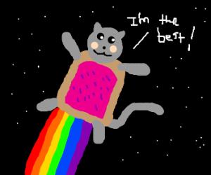 Nyan is best cat. NyanNyanNyan...
