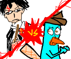Perry The Platypus vs. Harry Potter