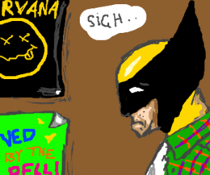Wolverine misses the 1990s
