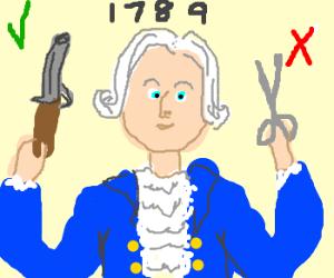 scissors are unconstitutional