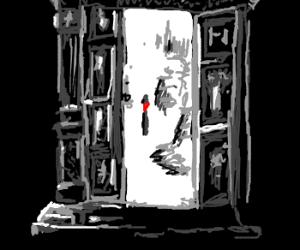 Wardrobe to Narnia.