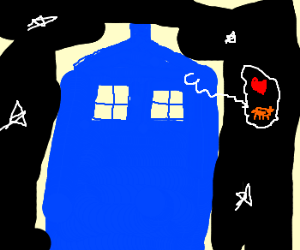 Tardis a cat person