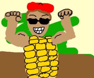 Red Beret strong corn-man