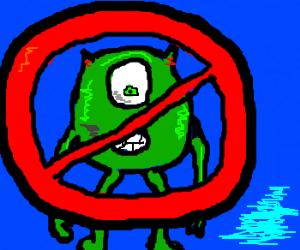 No green blobs