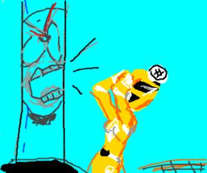 Zordon angry at Yellow Ranger