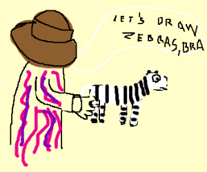 Zebras, let's draw zebras!