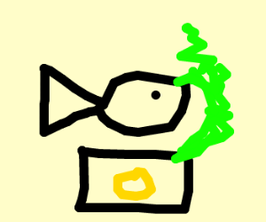 Stinking fish & chips