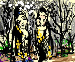 Atreyu and Artax in Swamp of Sadness