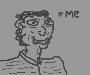 Draw a self portrait.