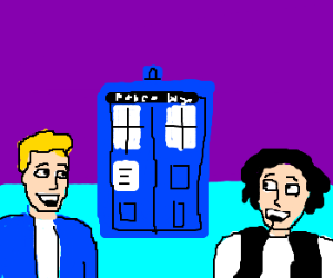 bill and ted tardis
