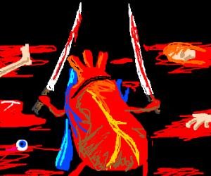 Heart on a killing spree