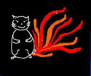 Beware, nine tailed cat