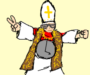 Rapping Pope Gangsta