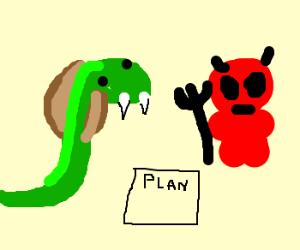 Devil and Cobra conspire