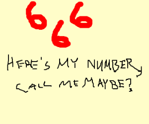 Heres my number, call me maybe?