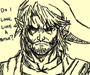 Link Explains How He Is Not Zelda