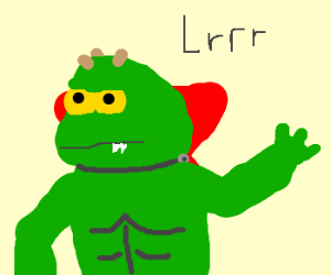 I am Lrrr, Emporor of Omicron Persei 8