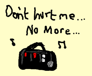What Is Love Baby Dont Hurt Me Drawing By Salamander