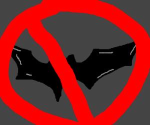 A 'batman BAN' on drawception