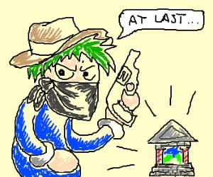 Lemming Bandit's final raid