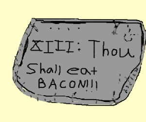 Draw the 13th Commandment