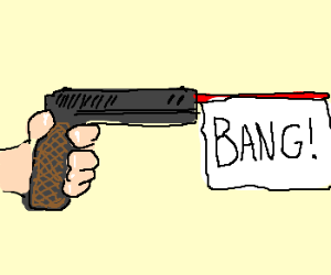 Toy Gun...BANG!
