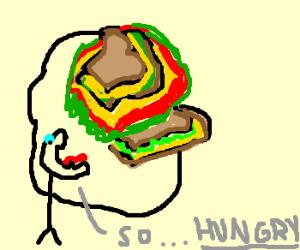 A sandwich sandwich