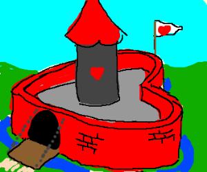 Heart Shaped Castle.