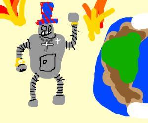 Bender,  president of Earth