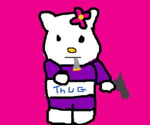 Kitty thug life
