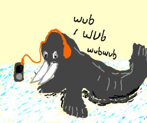 Dubstep Walrus.