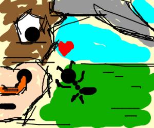 ant loves BULL!