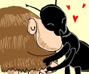 Grug hugs Ant-Man