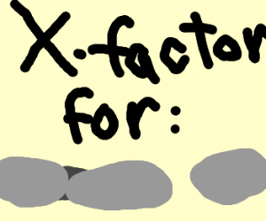 X-Factor for rocks