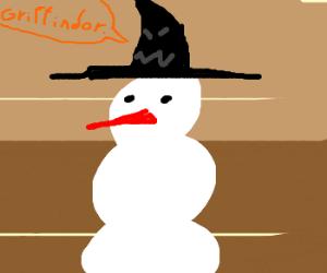 Sorting Hat is discriminative to snowmen