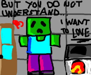 no one understands Minecraft zombie