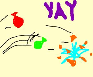 Yaaaayyyyy waterballoooons