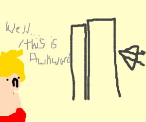 Wonder Boy is too late on 9/11 :(