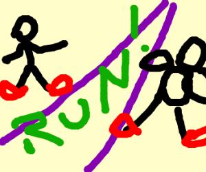Long distance runaround