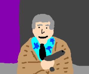 Mr. Rogers meets Tommy Vercetti