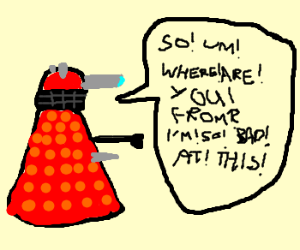 Socially Awkward Dalek