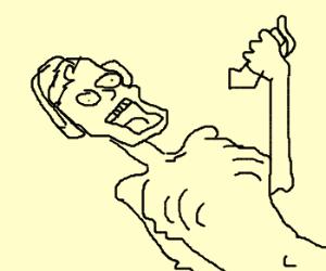 DJ having an asthma attack