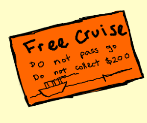 Claim your free cruise