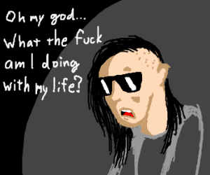 Skrillex admits that he is a loser