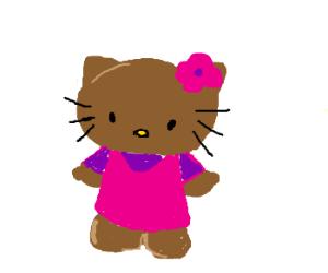 hello brown kitty