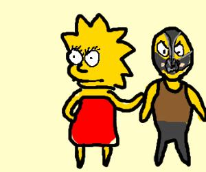 Lisa Simpson v Bane